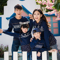 2017 hoodies mommy and me clothes	fashion cotton mother daughter matching clothes full sleeve	floral	5023