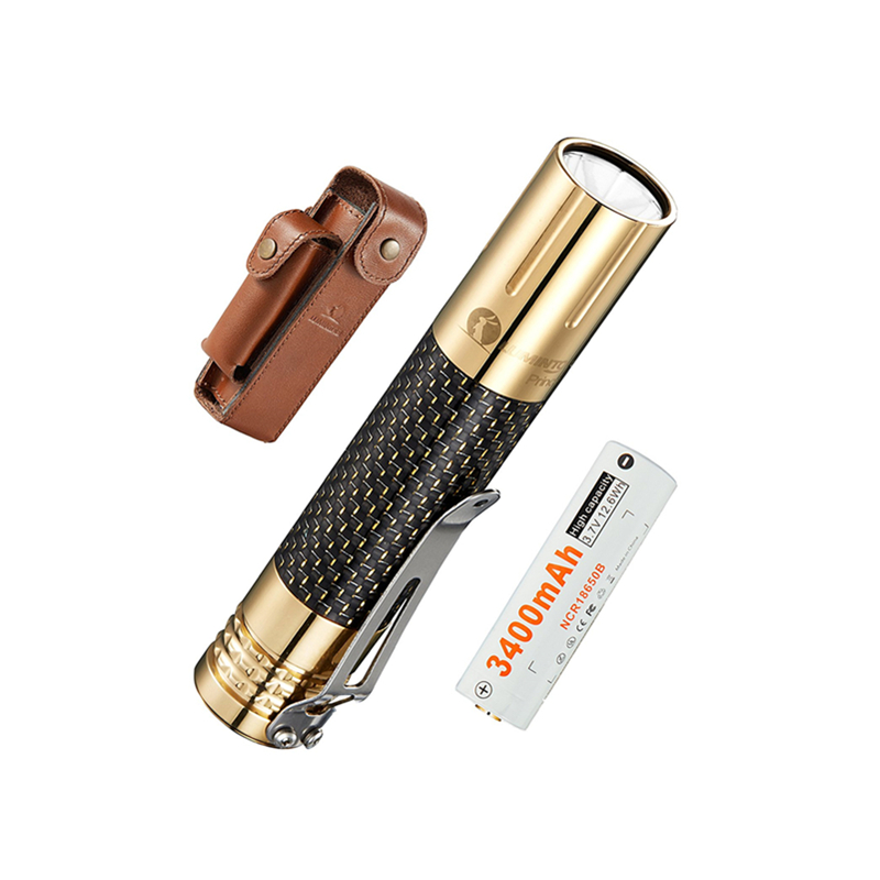 LUMINTOP Prince  Brass Powerful LED Flashlight Cree -XPL Waterproof 18650 Battery Torch With  Premium Carbon Fiber Material аудиосистема yamaha mcr n560 hifi cd