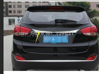 For 2010 2012 2013 2014 2015 for Hyundai ix35 stainless steel Rear Trunk Lid Cover Trim(A style)