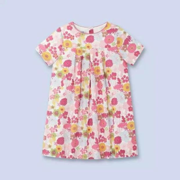 Hot Summer Baby Kids   Year Girls Flower Sleeveless Princess  Dress Party Dresses Clothes Red Pink Solid Vestido  jacadi summer girls florwer dresses new design 2016 casual cotton sleeveless kids clothes lovely party vest dress infantil vestido hot