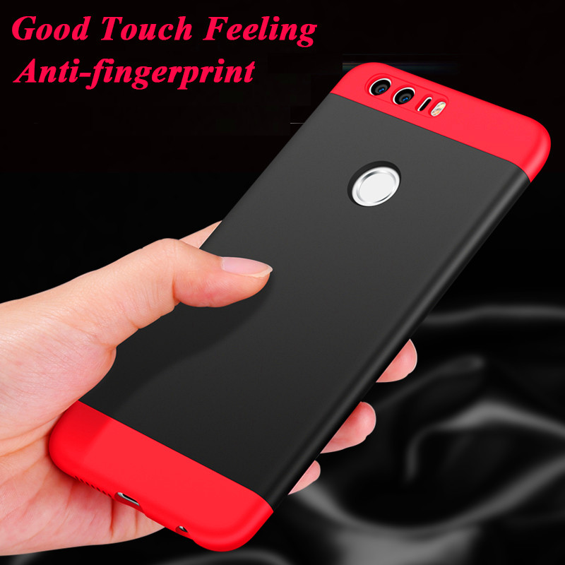 SuliCase P9 Lite 2017 Hard Case For Huawei P9 Lite 2017 Case Matte Plastic 360 Full Body Protection Cover for Huawei P9Lite 2017 in Fitted Cases from Cellphones Telecommunications