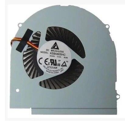 SSEA новый вентилятор процессора для LENOVO Y580 Y580A Y580M Y580N Вентилятор охлаждения ноутбука P/N KSB0805HC BJ66