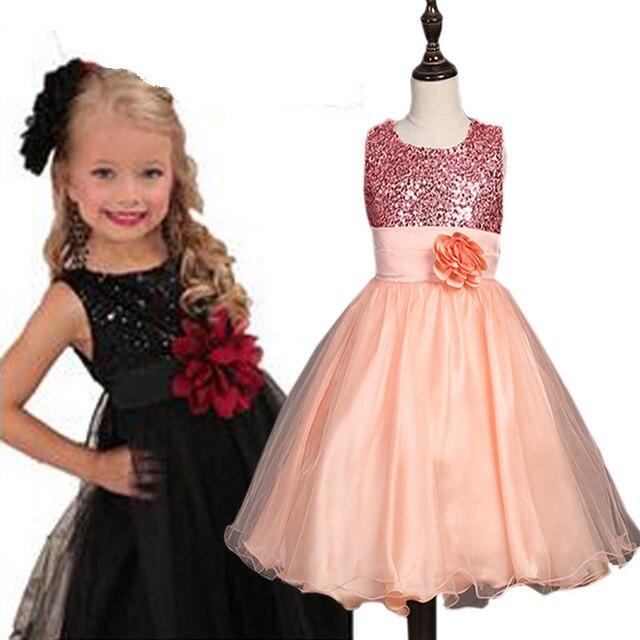 Mädchen Kleid 2016 Sleeveless Kid Kleider Partei Prinzessin Vestidos ...