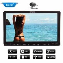 7-inch Double 2 din in Dash Car DVD Player Stereo Radio Audio bluetooth, Car Logo Chosen Hd:800*480 LCD Free Backup Camera+Free