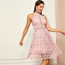 3e58611c2e Buy skater dress pink and get free shipping on AliExpress.com