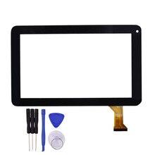 Высокое качество 9 дюймов черный Сенсорный экран DH-0926A1-PG-FPC080-V3.0 Стекло Панель Сенсор Замена с ремонт Инструменты