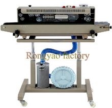 RY-1000automatic vertical horizontal continuous packing sealing machine automatic inflation printing words new sealer for sell