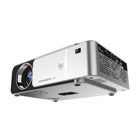 New Hot LED HD Projector HDMI USB 1080P Bluetooth WIFI Beamer Home Theater Projector NV99