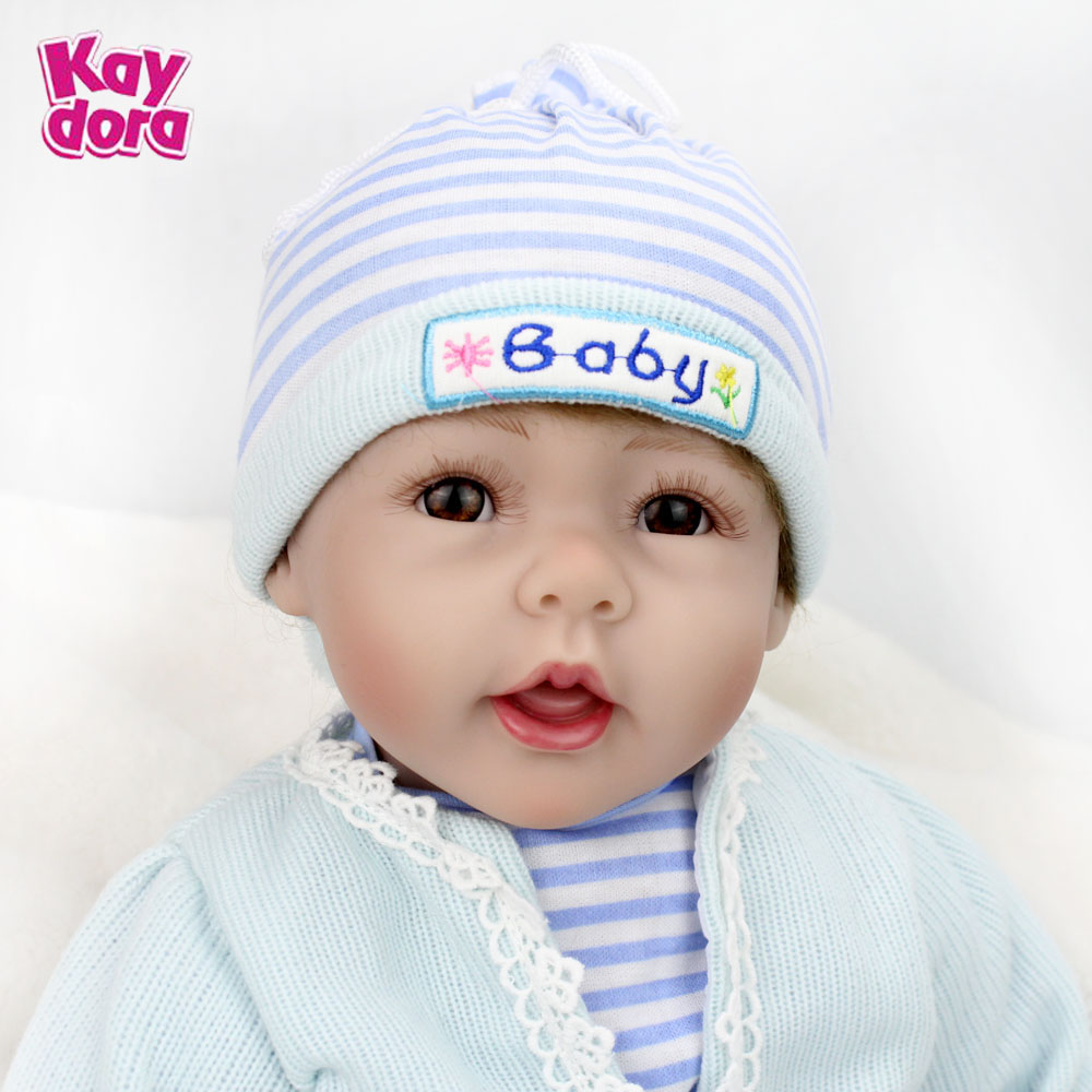22 inch 55cm Silicone Reborn Baby Dolls Alive Lifelike Real Dolls Realistic Kids Reborn Babies Boy Kids Toys Birthday Xmas Gift reiwalker women wallets brand design pu leather purse hasp fashion dollar price long wallets for female