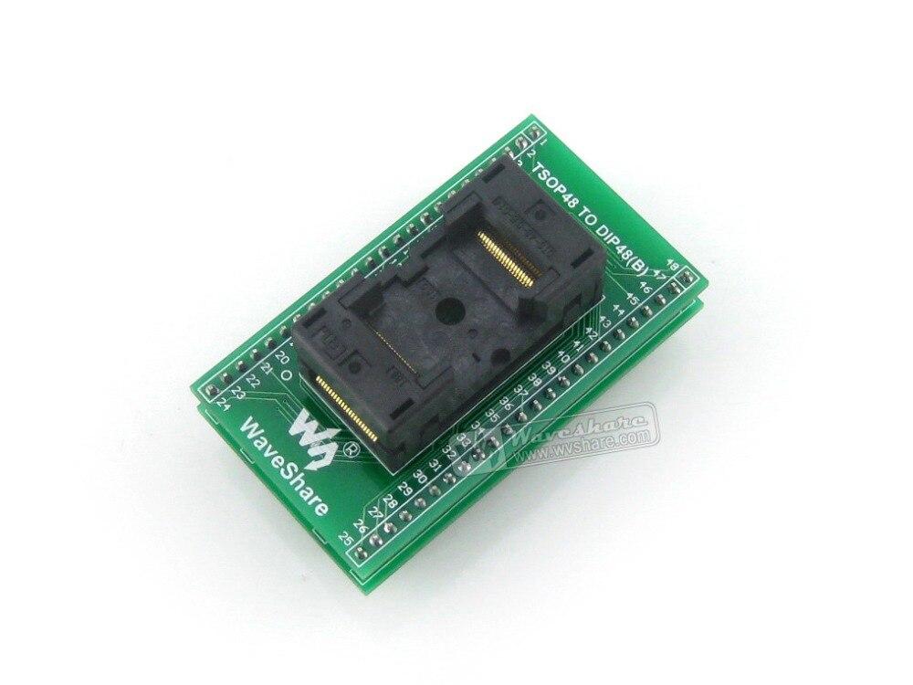 TSOP48 TO DIP48 (B) # OTS-48-0.5 Yamaichi IC Test Socket Programming Adapter 0.5mm Pitch