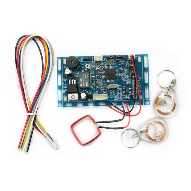 Envío libre 125 KHZ RFID EM/ID Embedded Puerta de Control de Acceso de Proximidad RFID de Control de Acceso de la Puerta Sistema de intercomunicación Edificio módulo