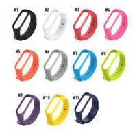 For Mi Band 3 Strap Wrist Strap for Xiaomi Mi Band 3 Silicone Miband 3 Accessories Colorful Pulsera Replacement Smart Watch Band