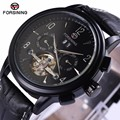 FORSINING Luxury Mechanical Watch Men self-wind Automatic watch men hands tourbillon watch Men self-wind watch With Gift Box