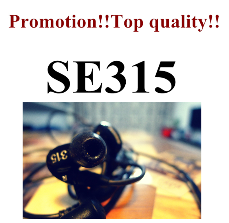 Europe America SE315 High Definition MicroDriver 3 5MM Hifi Stereo In Ear Earphones Noise Cancelling Bass