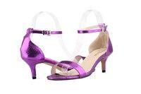New Fashion Women Shoes Sandals Faux Crocodile Open Toe Ankle Straps High Heels Summer BRIDAL PATENT