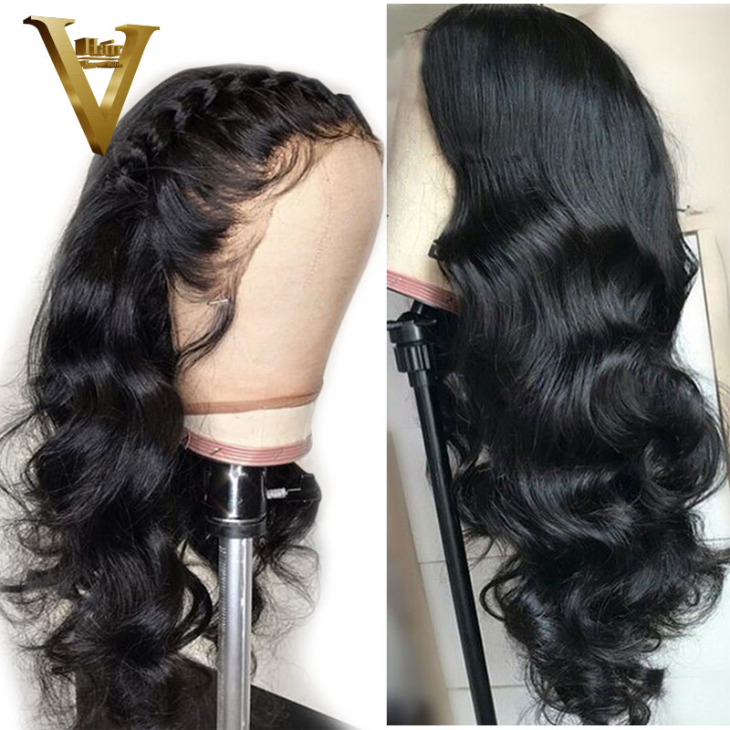 360 Lace Frontal Wig Pre Plucked With Baby Hair Body Wave Lace Front Human Hair Wigs