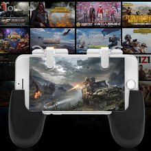 Types PUBG Mobile L1 R1 Trigger Button + Hand Grip Gamepad Controller Set L1R1 Joystick Phone Game Pad Kit More(China)