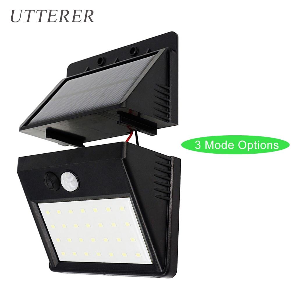 Solar Wall Light Motion Sensor