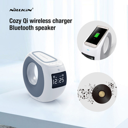 2016 Nillkin Bluetooth speaker qi wireless charger Music surround speaker charger for iPhone for samsung s6 s7 s7 edge lumia 950