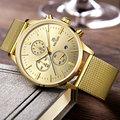 2016 new military stylish MEGIR brand design fashion chronograph men male clock sport steel business luxury wrist gift watch