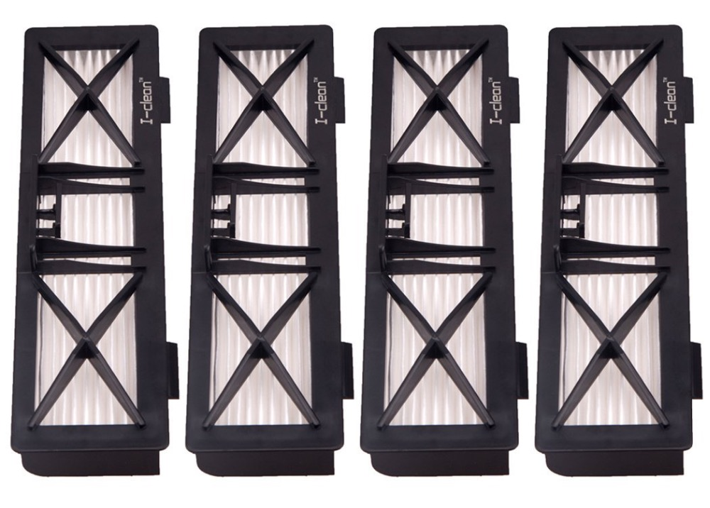 робот пылесос для сухой уборки neato botvac d85 4X Replacement HEPA Filters  for Neato Botvac D series and  connected series  D85 D80 D75 Robot Vacuum cleaner