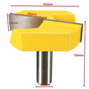 Image 3 - Milling Cutter Router Bit for Wood 1/2 Shank Mill Woodworking Trimming Engraving Carving Cutting Tools