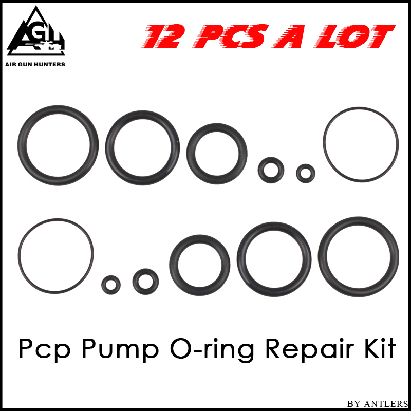 Paintball Pcp Hand Pump Repair Kit Rubber Oring Seal Gasket 12pcs 1 Set O-Ring Suitable For Pcp Pump Not Hill Pump