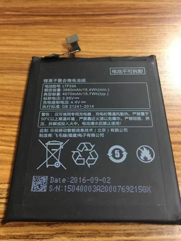 Jinsuli LTF23A Batterie pour Letv Pro3 X720 X722 X728 Batterie Typ 4070 mAh Haute Qualité