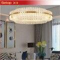 Zyyсовременное освещение хрустальная лампа американская нео-классическая креативная гостиная спальня ресторан вилла модная светодиодная Х...