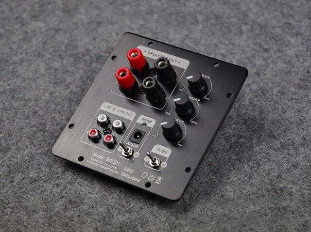 TPA3118 60W + 30Wx2 2.1 HIFI dijital Subwoofer güç amplifikatörü kurulu W/ 2.0 çıkış