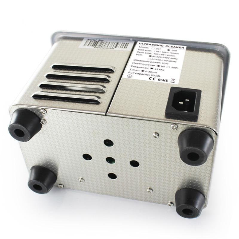 0.8 լ թվային ուլտրաձայնային մաքրող Sus304 - Կենցաղային տեխնիկա - Լուսանկար 5