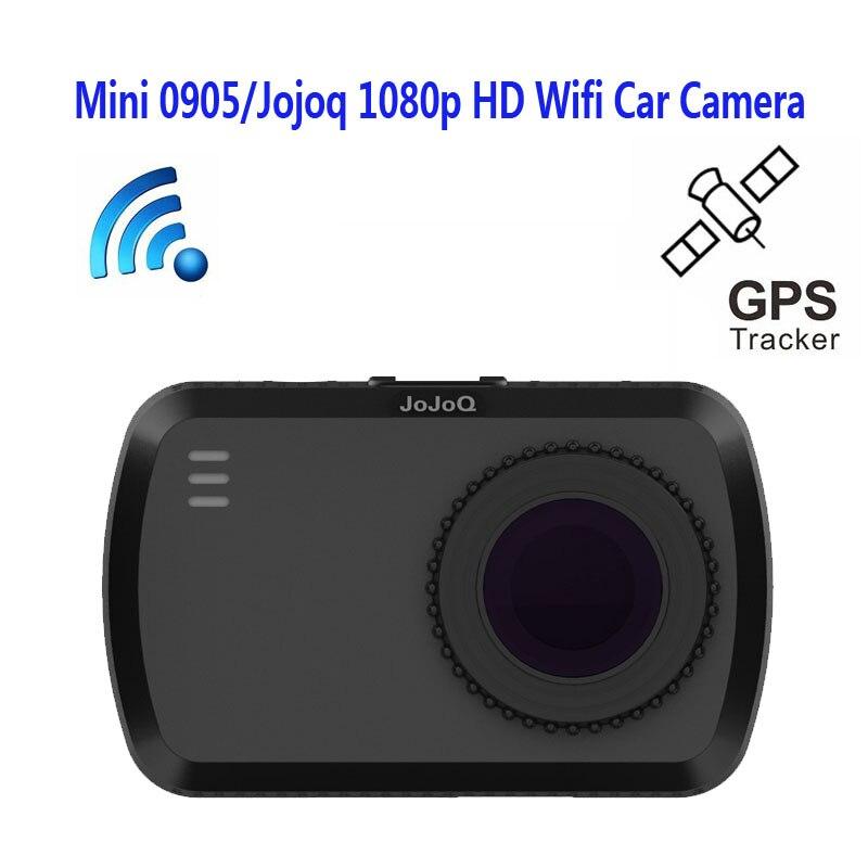 New Jusky Brand MINI 0905 WiFi Car DVR Recorder Novatek 96655 Car Camera GPS Auto Camcorder Full HD 1920x1080P 1.5inch Dash Cam