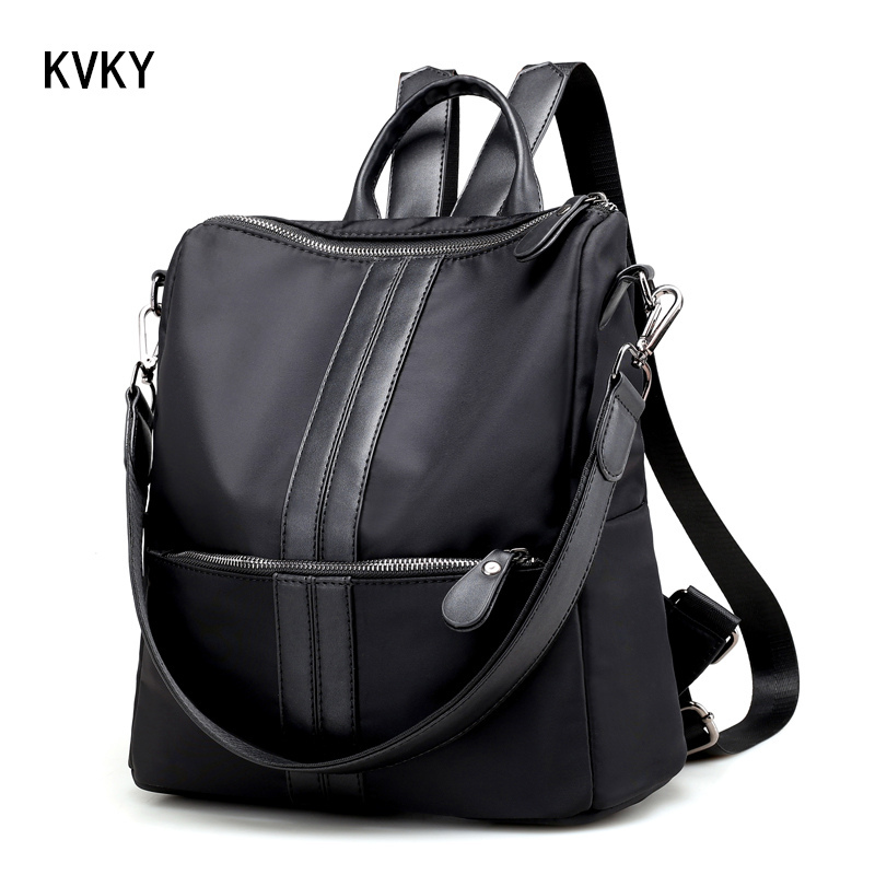 Brand Women Student School Shoulder Nylon Waterproof Laptop Female Casual Travel Bags for Teenage Backpacks 2016 brand 40l waterproof nylon women
