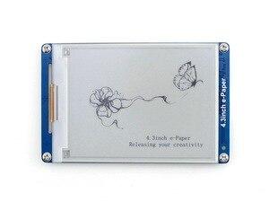 Image 1 - Электронный бумажный дисплей Waveshare, 4,3 дюймовый серийный интерфейс со встроенными книжными книгами, E Ink дисплей с разрешением 800x600