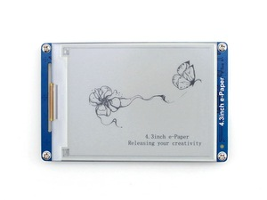 Image 1 - Waveshare 4.3inch serial interface electronic paper display with embedded font libraries E Ink display 800x600 resolution
