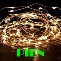 10M 100LEDs DC12 copper wire string lights waterproof LED starry lighting for holiday party Christmas tree blue rgb by DHL 200m
