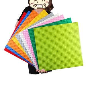 Image 2 - 50*50 Dots Quality BasePlate Compatible All Major Brand Building Blocks DIY Base Plate 40*40cm Educatioinal Bricks Toys for Kids