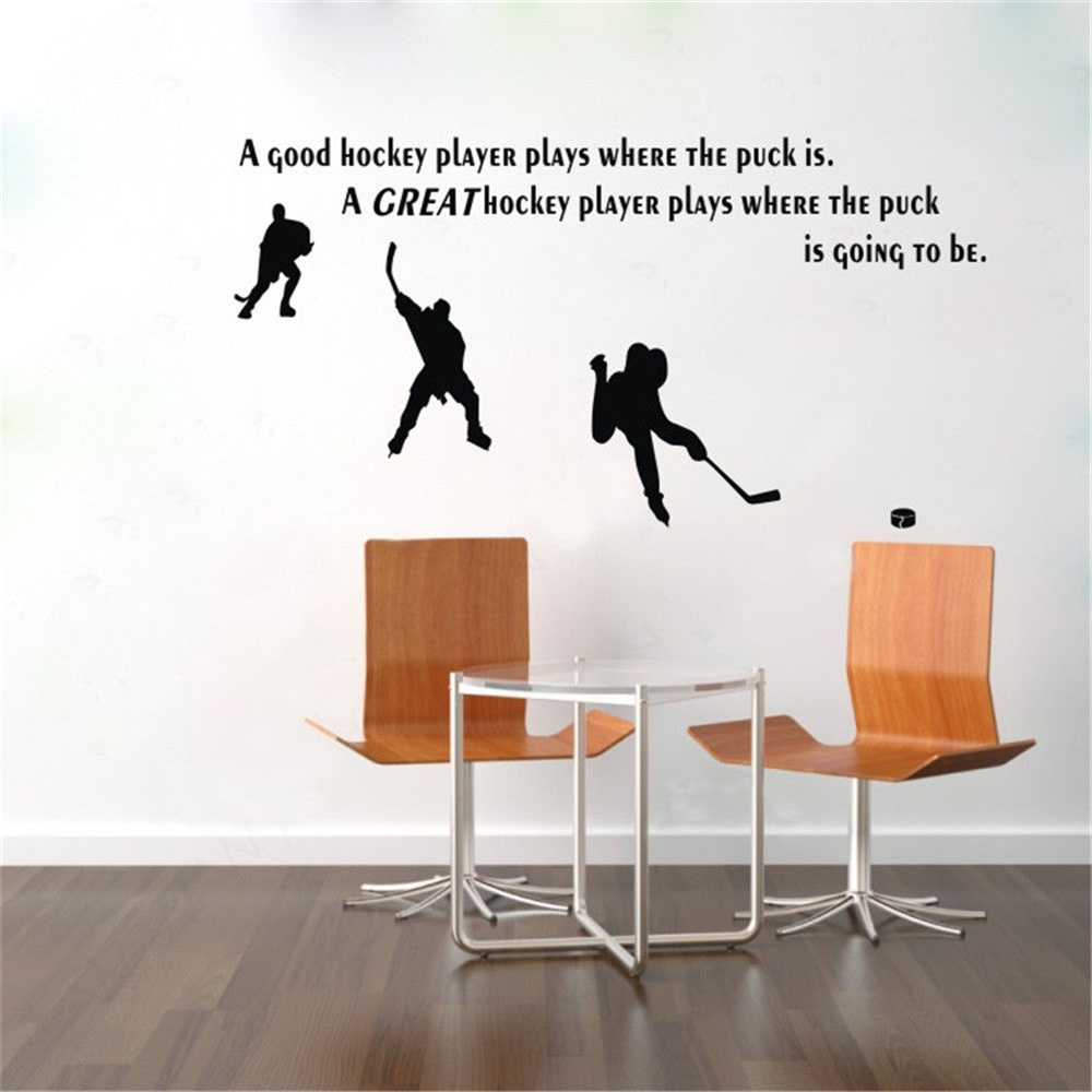 Compare Prices On Hockey Wall Stickers Online ShoppingBuy Low - Locations where sell wall decals