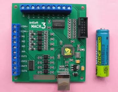 ФОТО Universal USB interface MACH3 motion control card feidiao card control board replacement Weihong engraving machine