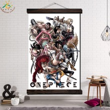 One Piece Character Image Modern Wall Art Print Pop Picture And Poster Frame Hanging Scroll Canvas Painting Home Decor