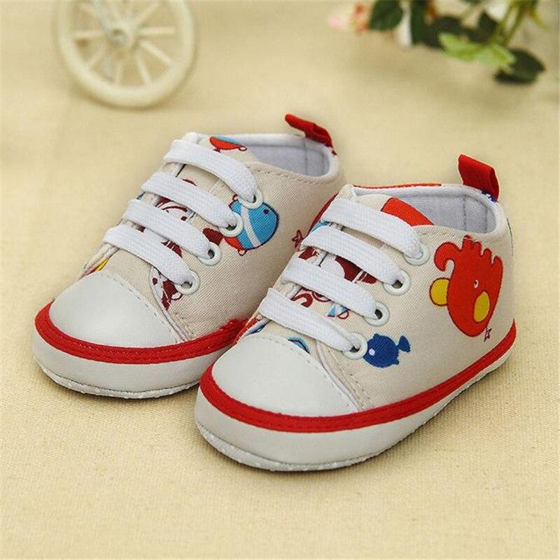 ARLONEET Baby Shoes Girl Boy Soft Cololrful Baby Animal Printing Bandage Canvas Shoes kids Newborn Walking Shoes 2018