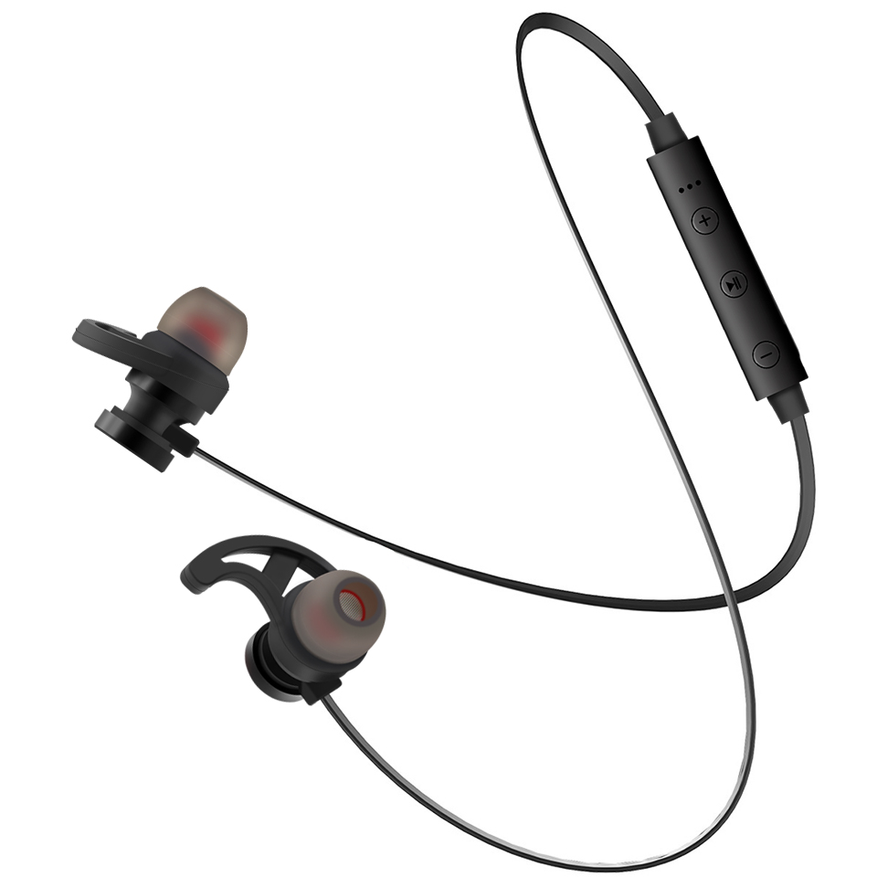 <font><b>Bluetooth</b></font> 4.1 Магнитная Спорт на открытом воздухе Наушники гарнитура наушники для Smart IPhone Huawei Xiaomi MP3 плеер 60ma Батарея