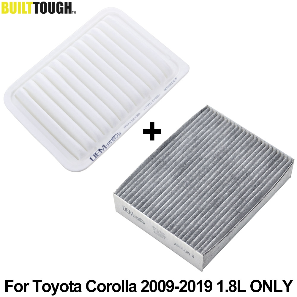 Activated Carbon 17801-21050 White Cabin Air Filter Air Conditioner