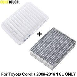 Engine Cabin Air Filter For Toyota Corolla E140 E170 2009 2010 2011 2012 2013 2014 2015 2016 2017 2018 2019 1.8L 2ZR-FE 2ZR-FAE
