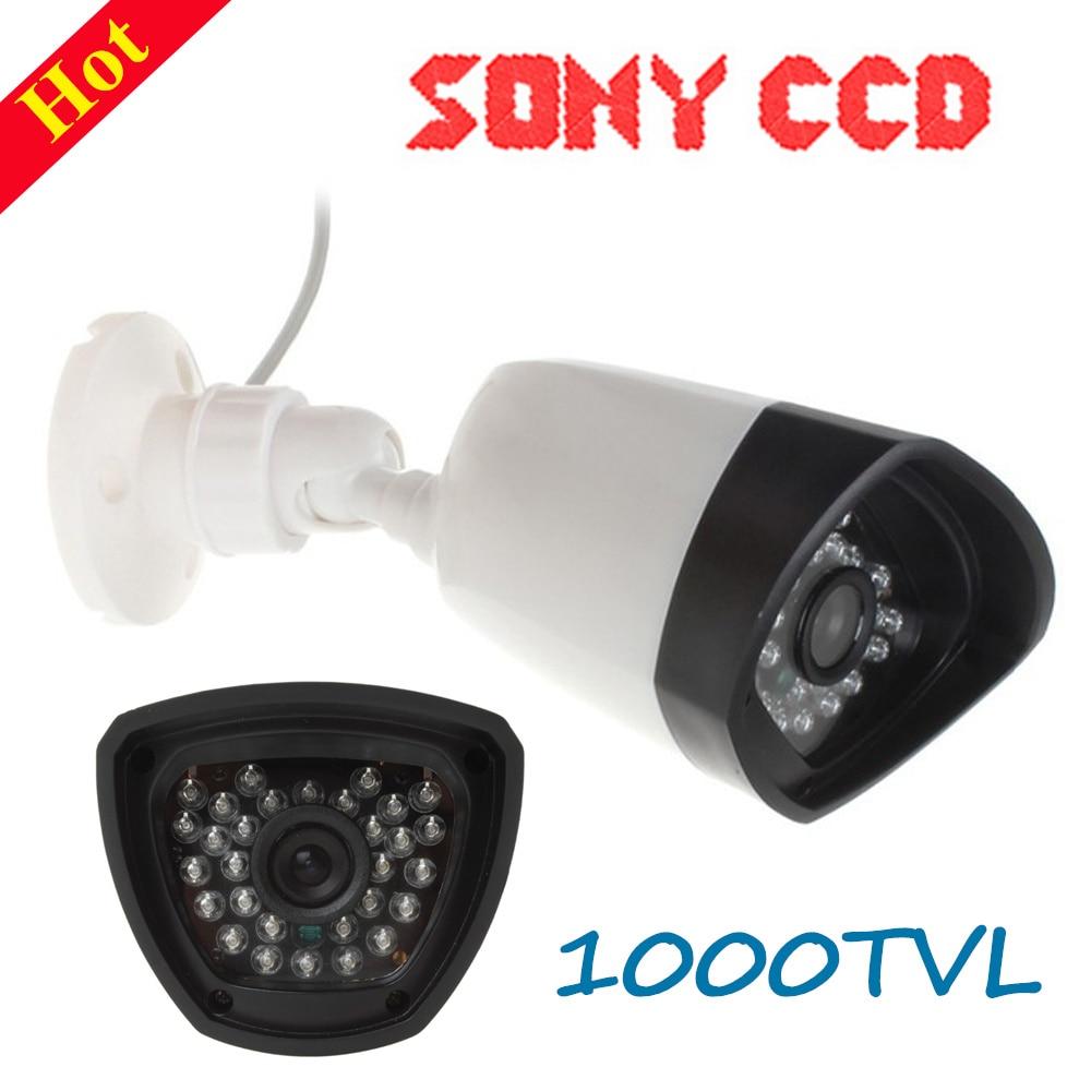 1000TVL CCTV Camera Home Security Camera IP66 Waterproof Outdoor Surveillance Cameras with Night Vision IR-Cut