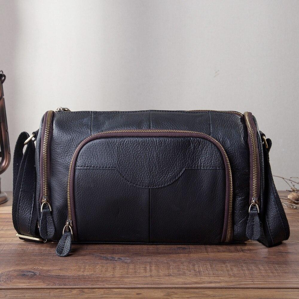 แฟชั่นหนังชาย Messenger กระเป๋า Satchel Cowhide Crossbody หนึ่งไหล่กระเป๋าหนังสือโรงเรียนกระเป๋าสำหรับชาย B258 b-ใน กระเป๋าสะพายข้าง จาก สัมภาระและกระเป๋า บน AliExpress - 11.11_สิบเอ็ด สิบเอ็ดวันคนโสด 1