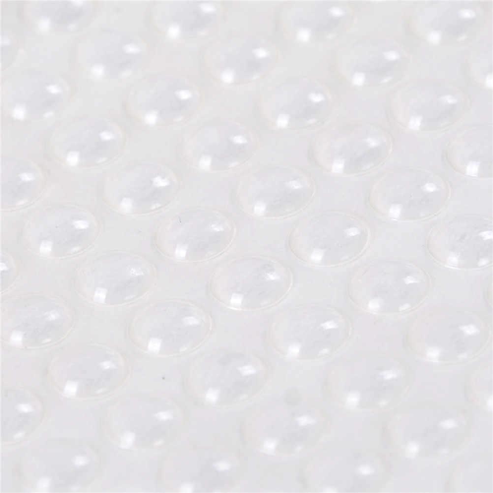 100 шт Самоклеющиеся двери буферная прокладка резиновая силиконовые ножки ящики шкафа прозрачные полукруглые бамперы мебель двери аксессуары
