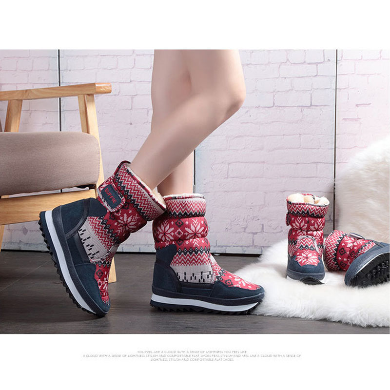 Winter children shoes girl and female boots water-proof fur kids snow boots plush shoes Baby Casual Shoes for 4-16 years old uovo baby girls snow boots 2017 new faux fur plush kids high boots glitters children shoes soft sole winter boots for toddlers