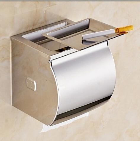 Bathroom tissue box stainless steel waterproof tissue box ...