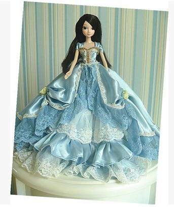Autonomous design handmade Gifts For Girls Doll Accessories Evening Suit Wedding Dress Clothes For Barbie 1:6 Doll BBI0083 autonomous design handmade gifts for girls doll accessories evening suit wedding dress clothes for barbie 1 6 doll bbi0048